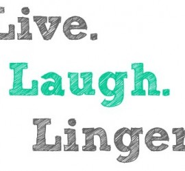 Live Laugh Linger square