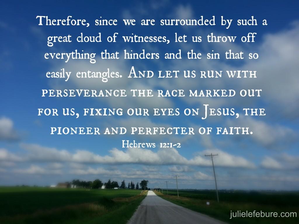 Hebrews 12 1-2