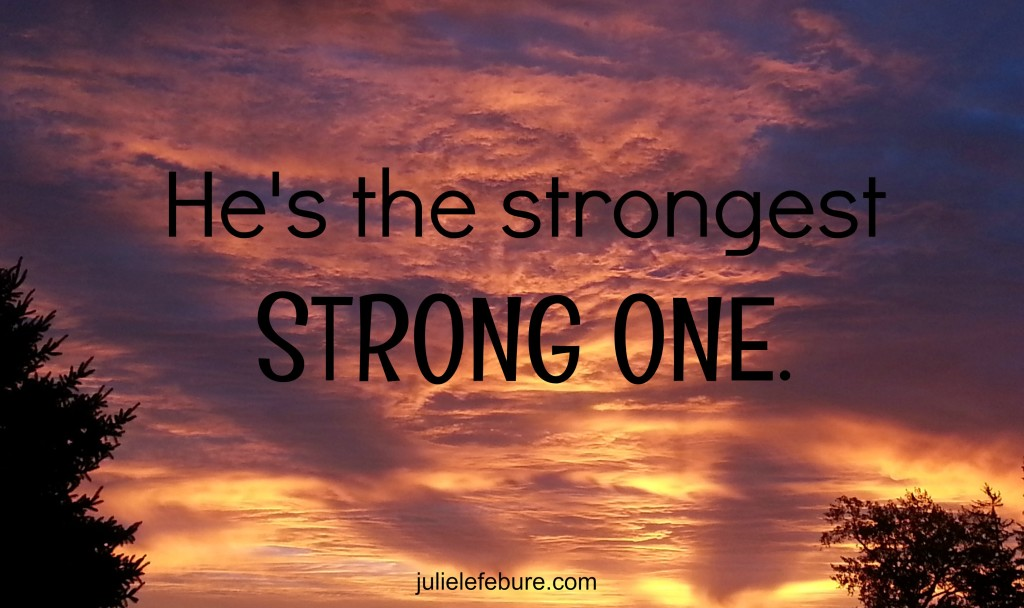 Strongest strong one