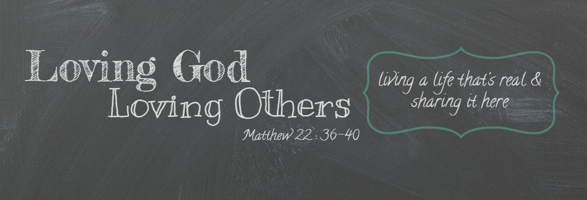 Bible verse love god love others