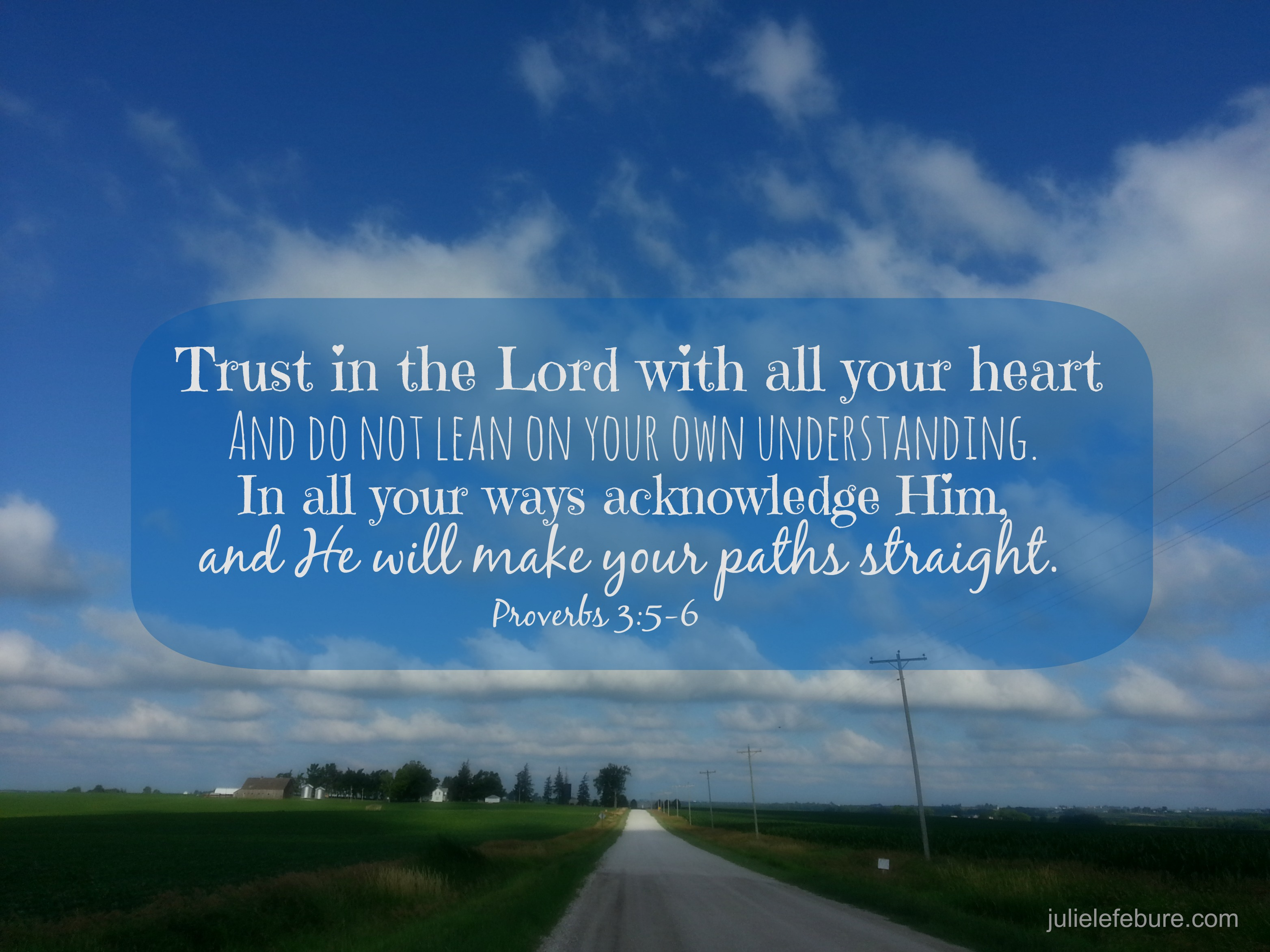 Peace in Trusting God