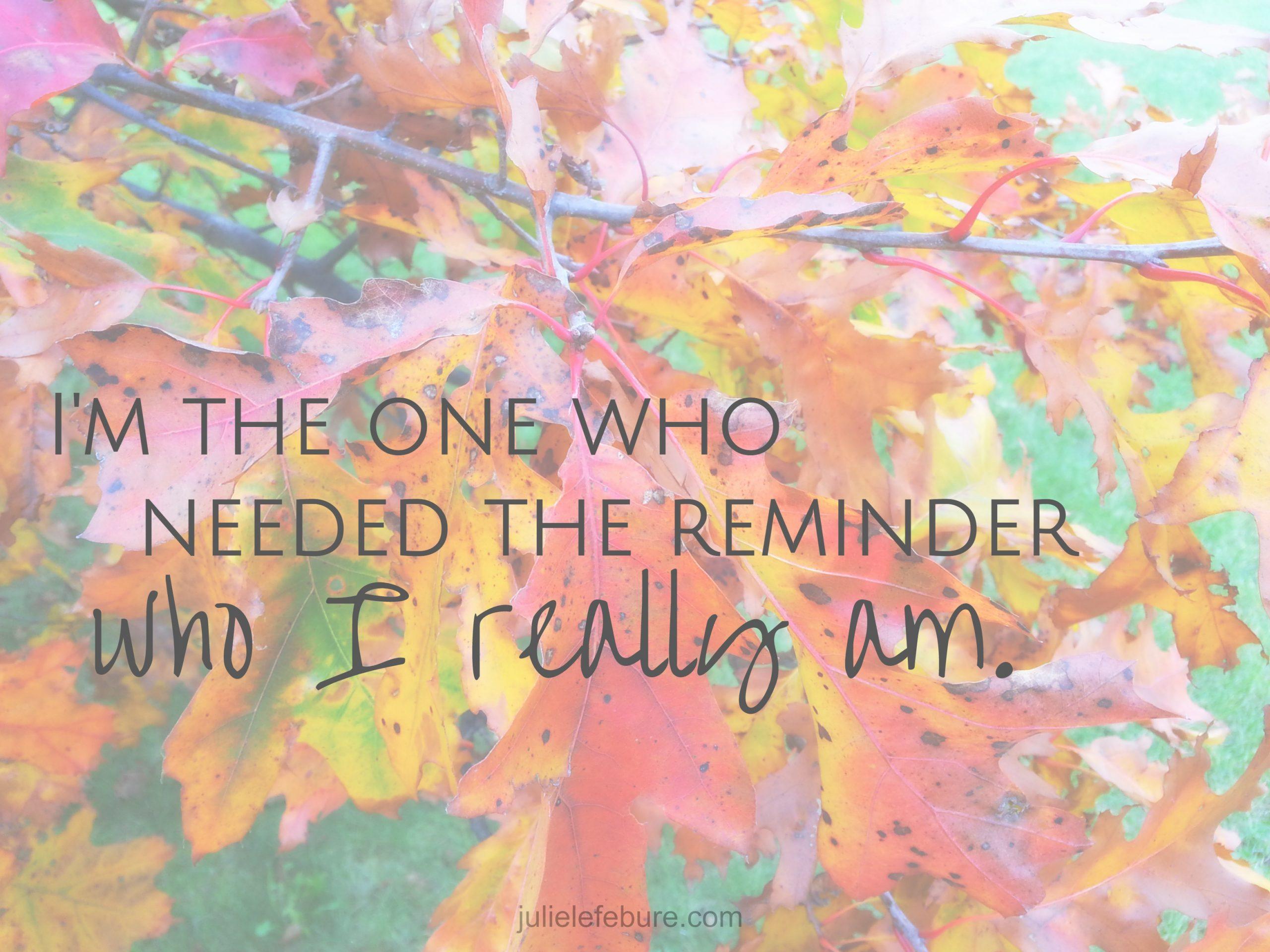 31 Days Celebrating Who You Are – A Recap