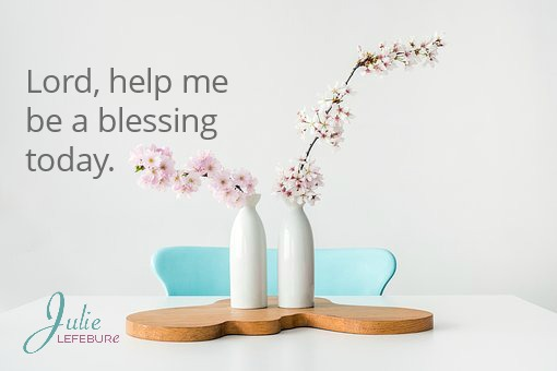 Lord, Help Me Be A Blessing Today