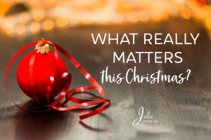 What really matters this Christmas?