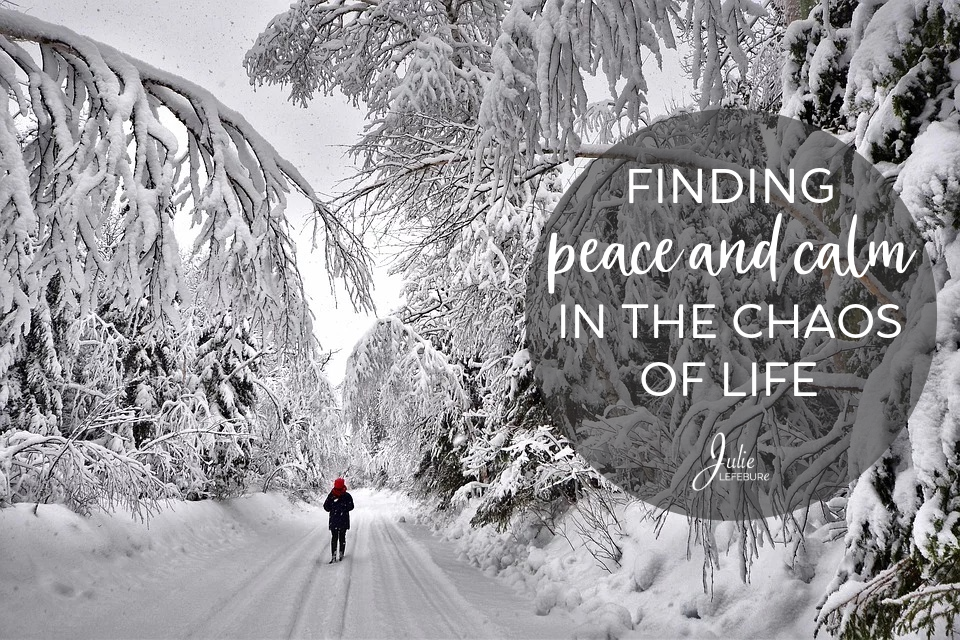 Finding Peace And Calm In The Chaos Of Life