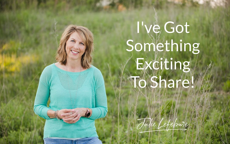 I've Got Something Exciting To Share!