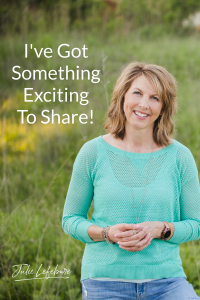 I've Got Something Exciting To Share